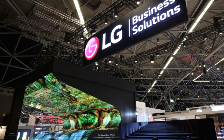 LG Showcases Innovative Transparent OLED anf LED Solutions at ISE 2019