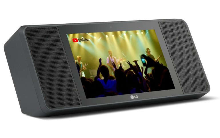 LG's XBOOM AI ThinQ WK9 Smart Diaplay Combines Google AI and Smart Display With Meridian Audio