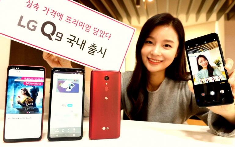 Budget LG Q9 Smartphone Launching This Week