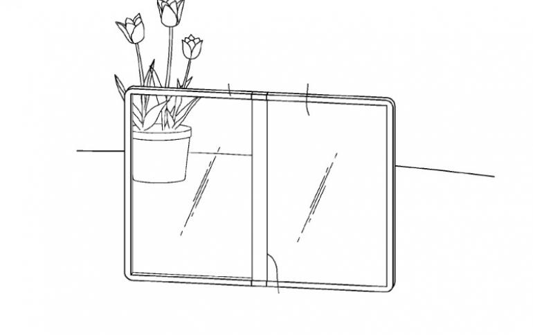 LG Patent Desrcibes A Transparent Foldable Smartphone