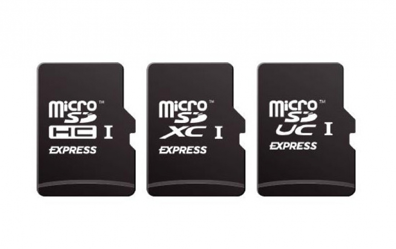 microSD Express Memory Card for Mobile Devices Supports 985 MBps Speeds
