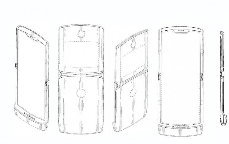 Patent Reveals the Design of Motorola's New Foldable Razr Smartphone