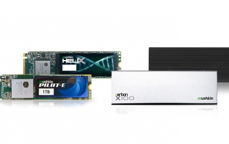 Mushkin Presents New SSDs at CES 2019