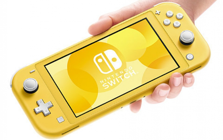 Nintendo Unveils the Switch Lite  For The Younger 3DS Audience