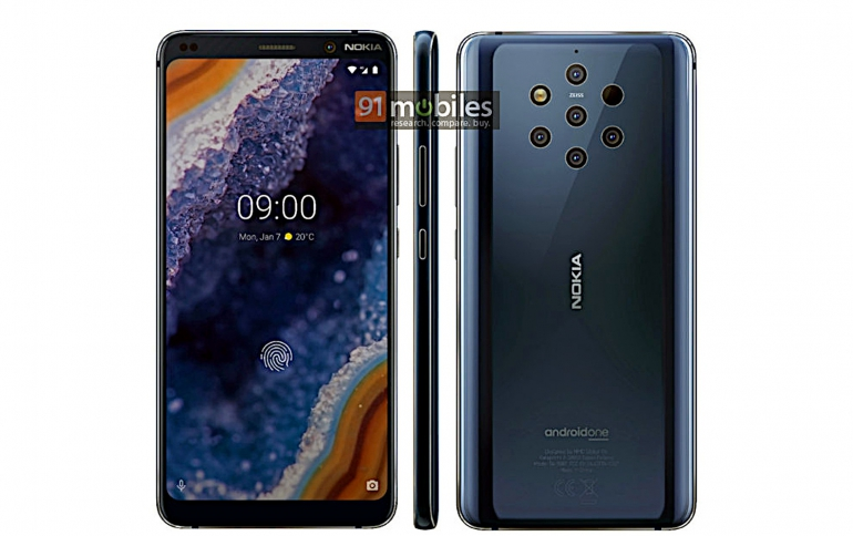 Photos of the Nokia 9 PureView Leaked Again