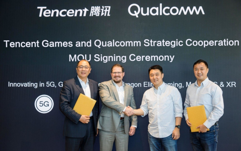 Qualcomm Announces Cooperation with Tencent Games