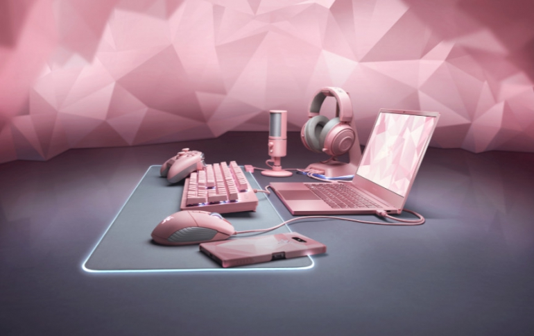 Razer Goes Quartz Pink for Valentine's Day