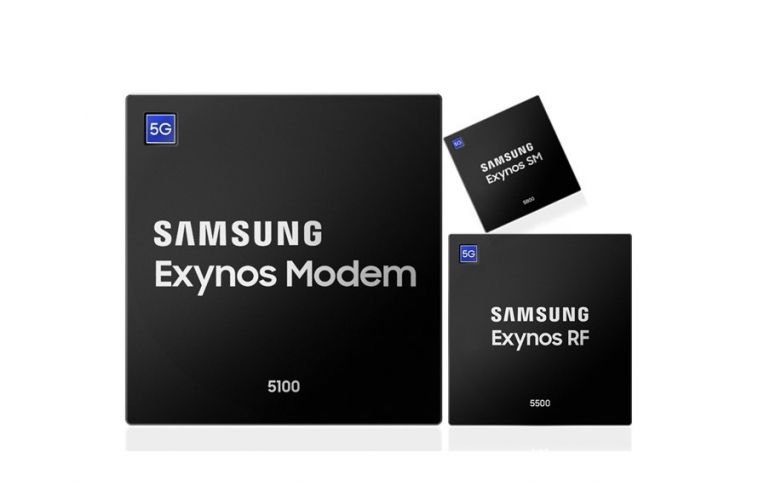 Samsung Starts Production of New Multi-Mode Exynos 5G Chipsets