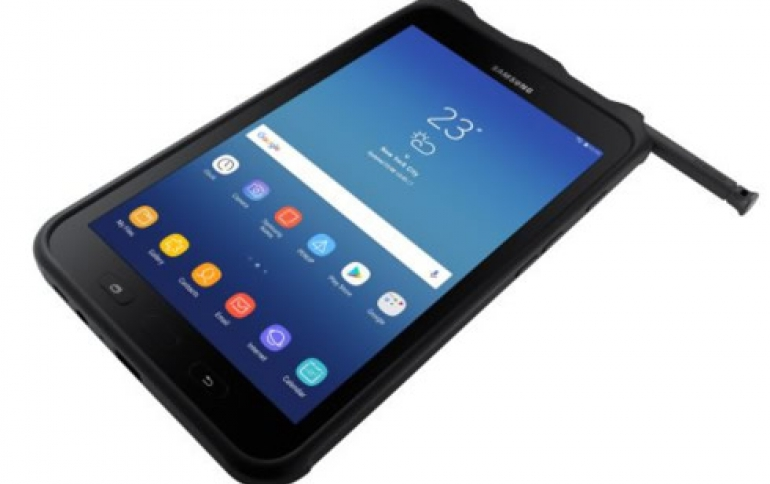 Samsung's Ruggedized Galaxy Tab Active2 Now Available in the U.S.