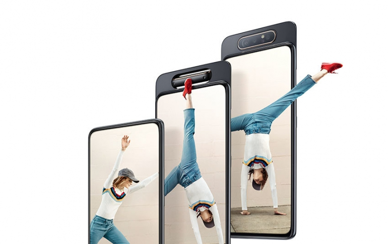 New Samsung Galaxy A80 Launches With a Rotating Camera