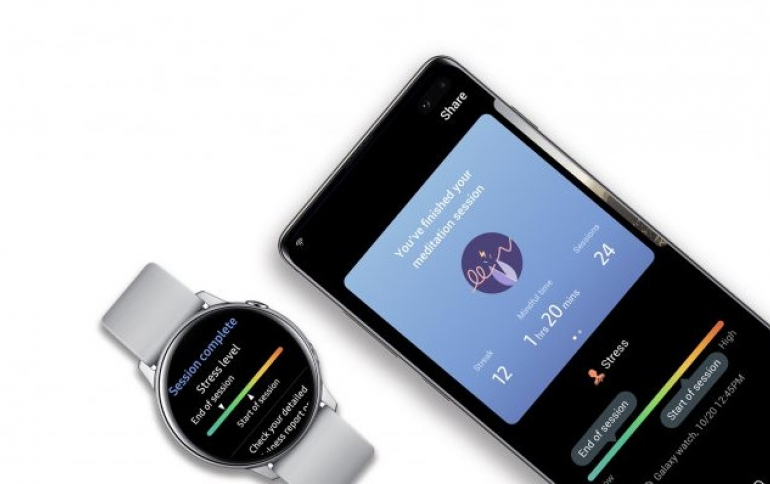 Samsung Teams up with Calm to Provide More Health Services