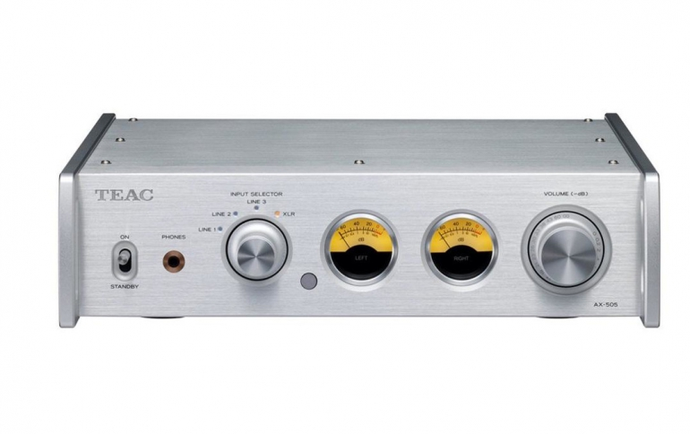 New TEAC AX-505 Amplifier Looks Retro But Packs Power