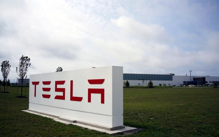 Tesla's Solar Factory to Make EV Chargers