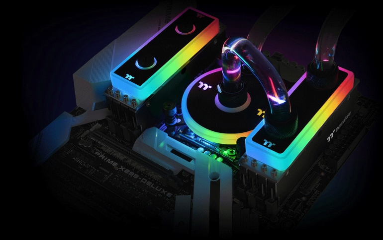 Thermaltake Showcases Latest PC Components Including Water-cooled Memory Modules at CES 2019