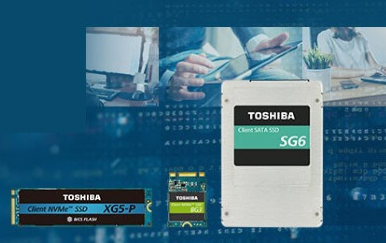 Toshiba is Testing PCIe 4.0 SSDs