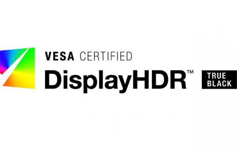 VESA Introduces DisplayHDR True Black High Dynamic Range Standard for OLED Displays