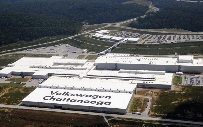 Volkswagen to Build New Electric Cars in Chattanooga
