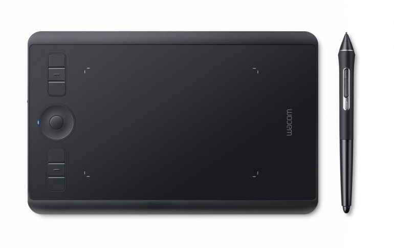 Wacom Releases New  Intuos Pro Small Tablet