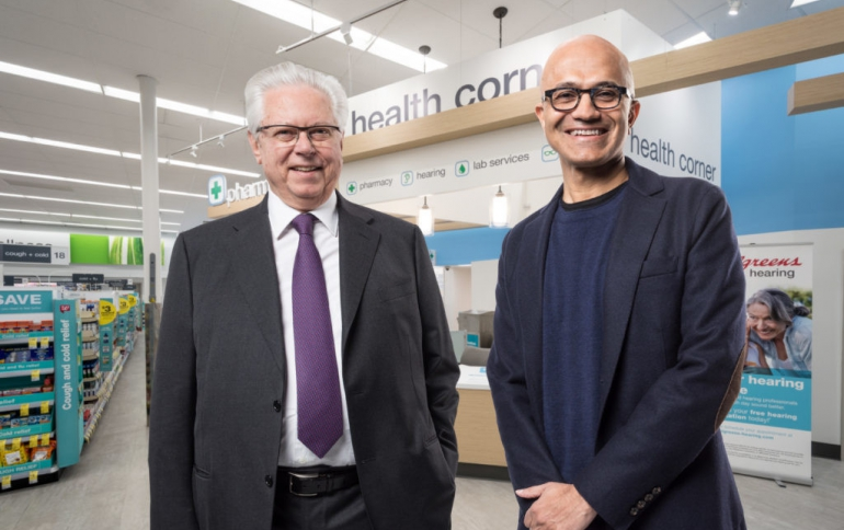 Walgreens Boots Alliance and Microsoft Establish Strategic Partnership on Health Care Deliver