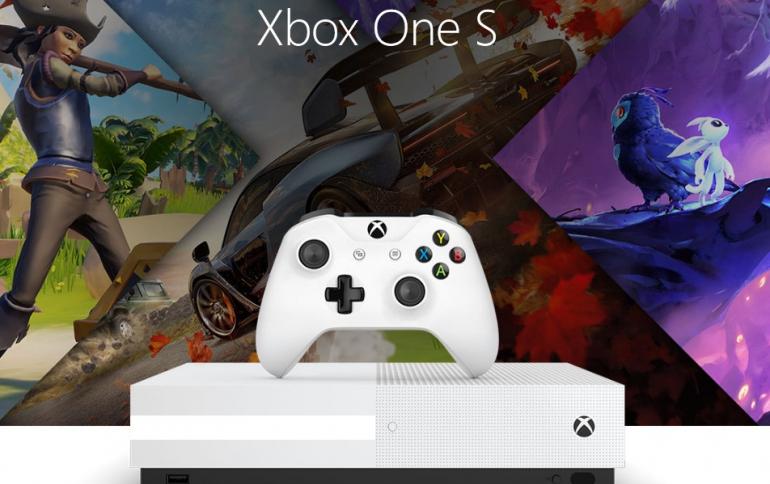 Microsoft Said to Release Disc-less Xbox One S Soon