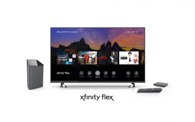 Comcast Launches Streaming Video Platform Xfinity Flex