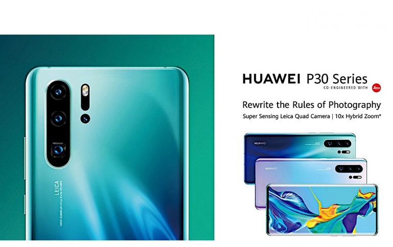 Huawei's P30 Details Appeared on Company's Website