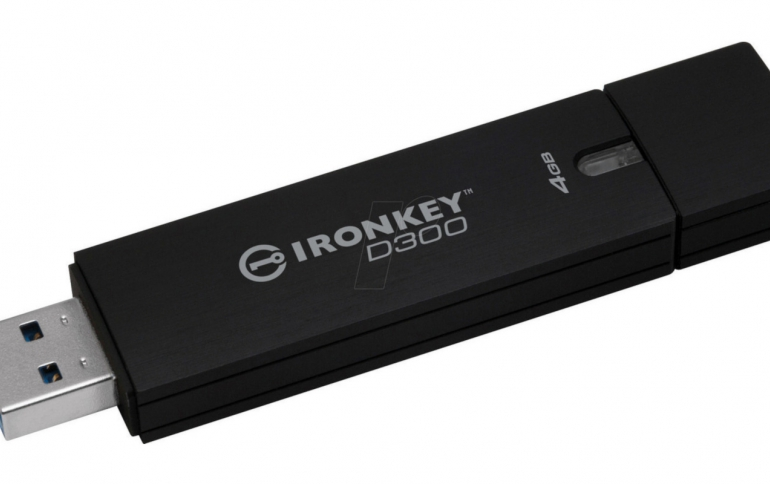 Kingston Releases Managed Model of IronKey D300 Serialized Encrypted USB