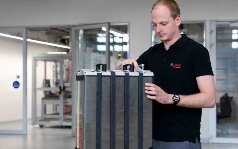 Bosch Partners With Sweddish Company Fuel Cell Technology