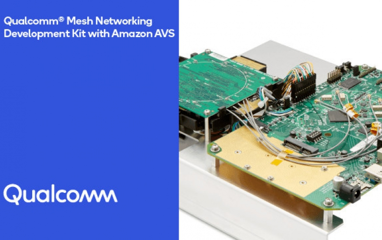 Qualcomm SDK Simplifies Development of Mesh Wi-Fi Networks Featuring Amazon Alexa