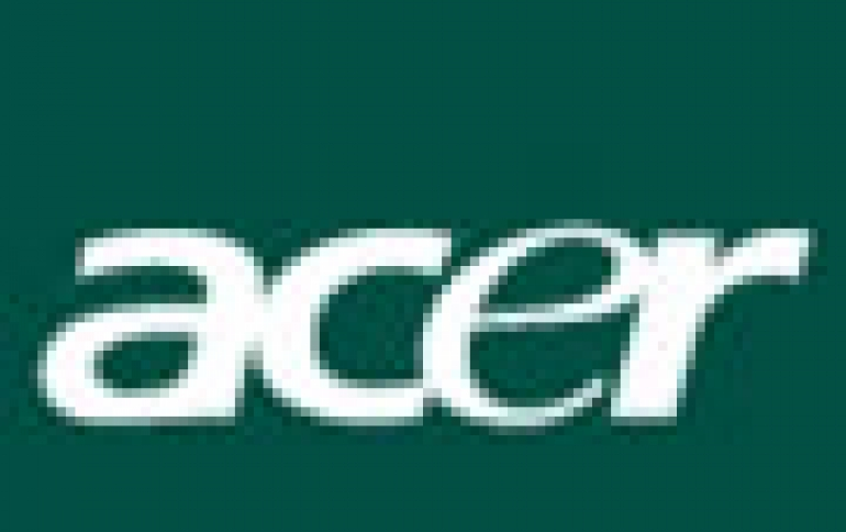 Acer To Build Supercomputer For Taiwan