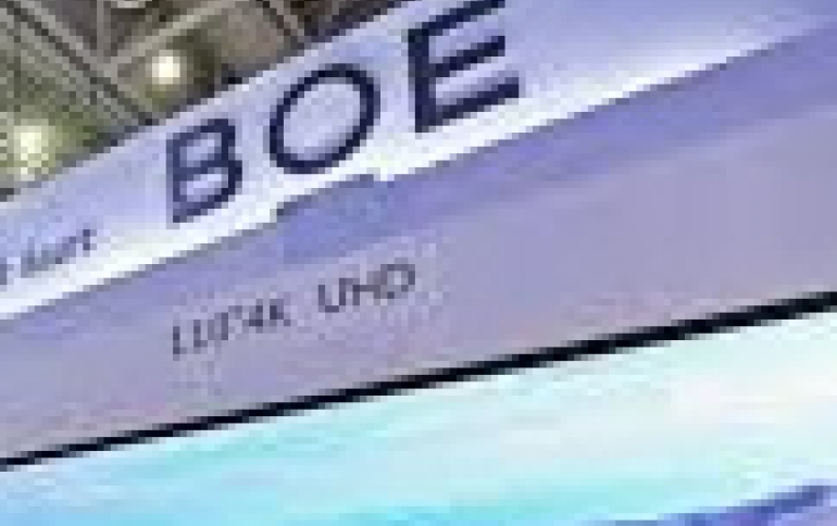 BOE to Begin Production of micro-OLEDs in early 2019