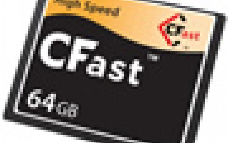 CFAST2.0 Draft Specification Introduces SATA-3 Format Capable of Up to 600MBps