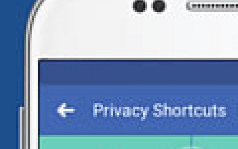 Facebook Makes Privacy Settings Easier to Find, New Home Products Delayed