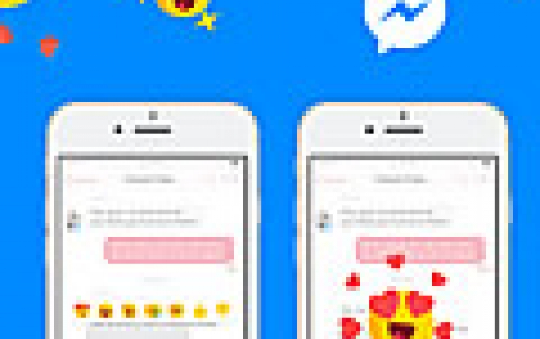 Facebook Introduces  Message Reactions and Mentions For Messenger