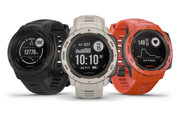 Garmin Instinct GPS Watch Packs Everything You Need For Outdoor Adventures