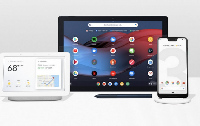 Google's Take on Hardware: Pixel 3 and Pixel 3 XL, Pixel Slate and Google Home Hub