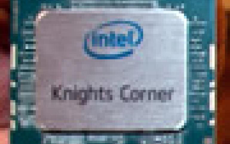 Intel Reveals 1 TFLOP/s  Knights Corner, Next-generation Xeon E5 Chips