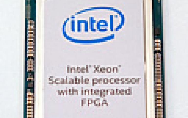 Intel Announces First Xeon Scalable Processor with Integrated Intel Arria 10 FPGA