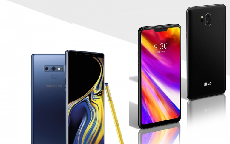 Samsung, LG Launch Trade-in Promotions to Help Sales Of Latest Flagship Smartphones