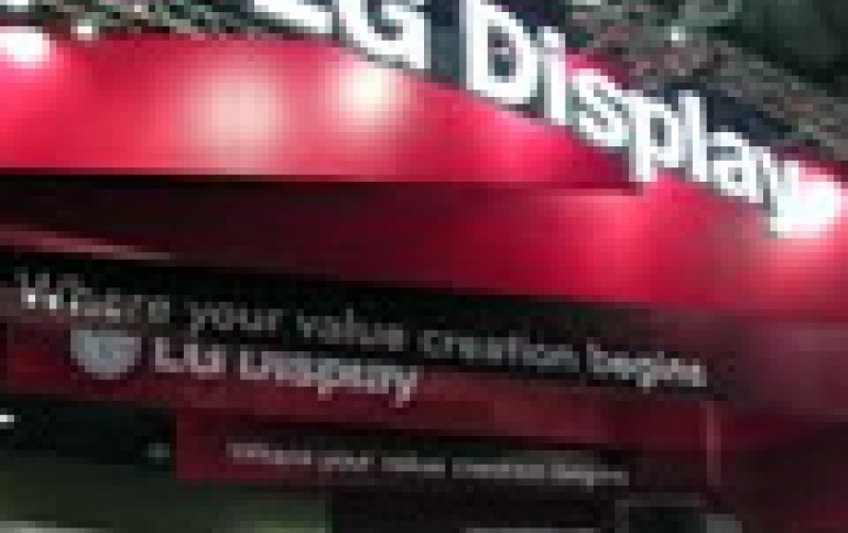 LG Display Q4 Profit Fell on Low Panel Prices, New OLED Investments