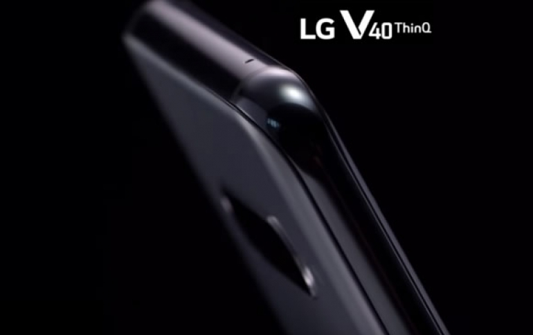 LG Unveils Teasers of the 5-camera V40 ThinQ Smartphone