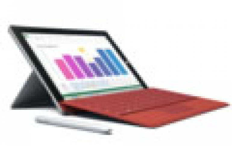Microsoft Introduces The Surface 3