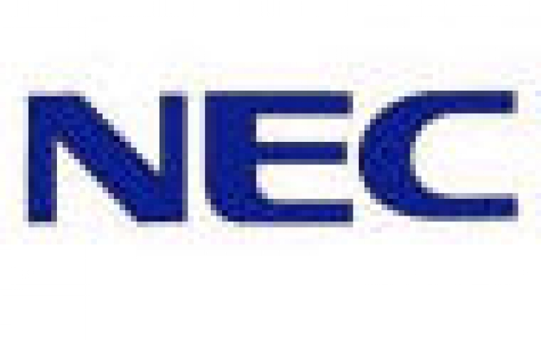 NEC's blue laser hits 300mW output power