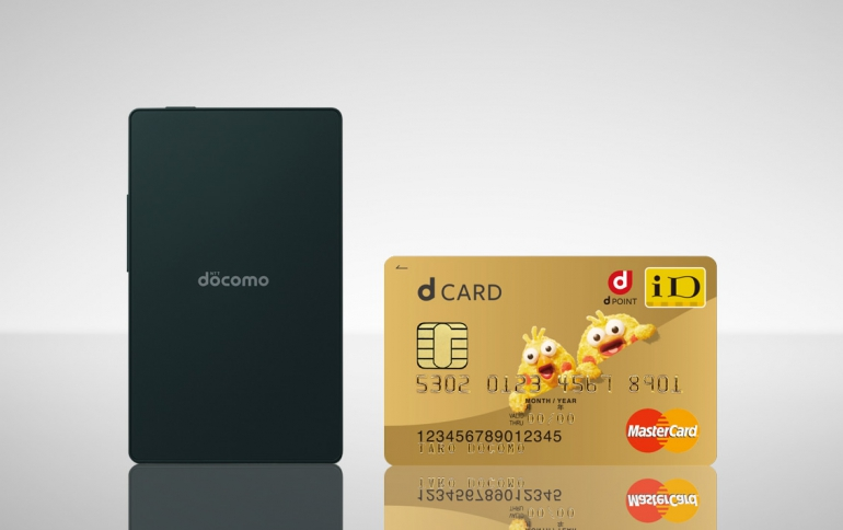 NTT Docomo's Card Keitai KY-01L Mobile Phone has The Size of a Business Card