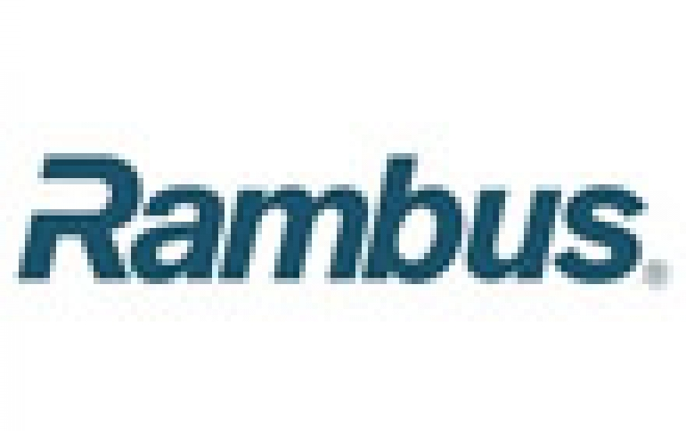 Rambus and Nanya Sign Patent License Agreement
