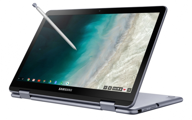 "Samsung Chromebook Plus V2  Gets ""Always On"" LTE Connectivity"