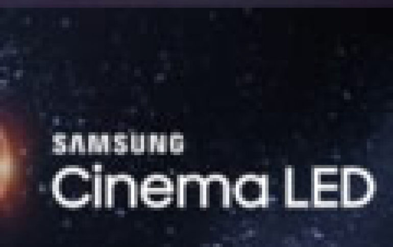 Samsung Partners with Theater Operator Wanda Cinemas, to Launch China's First Cinema LED Theater