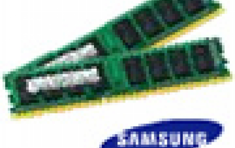 Samsung Develops 'Green' 30nm DDR3 DRAM