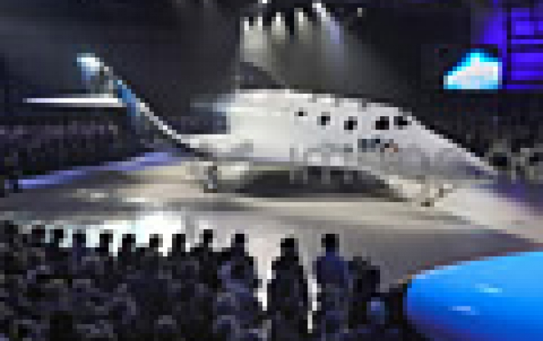 Virgin Galactic Unveils New Spaceship