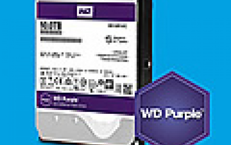 Western Digital Adds 10TB Model To Purple Surveillance-class Hard Drives